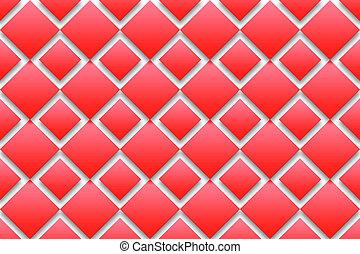 roter hintergrund, diamanten