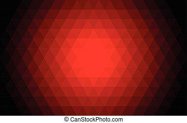 rotes , abstrakt, dreieck, hintergrund., vektor, illustration.