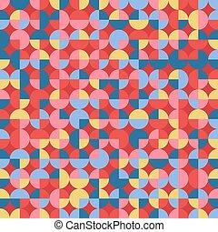 rotes , blaues, abstrakt, hintergrund