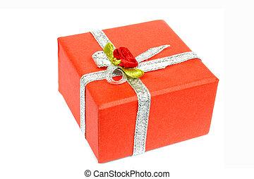 rotes , geschenk