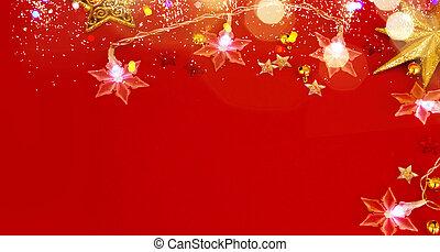 rotes , jahreswechsel, hintergrund