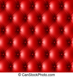 rotes , leder upholstery, muster
