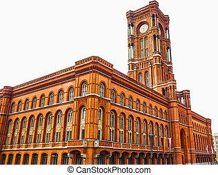 Rotes Rathaus, Berlin HDR - High dynamic range HDR Rotes...