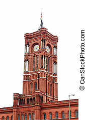 Rotes Rathaus in Berlin Germany
