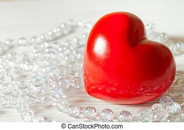 rotes , valentine, herz
