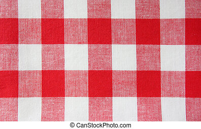 rotes weiß, handtuch