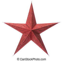 rotes , weihnachten, stern