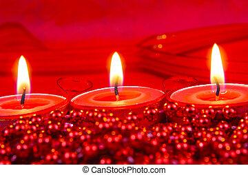 rotes , weihnachtsdeko