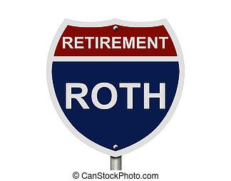 roth, retraite, ton, fonds