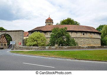 rothenburg, 門, 設防, 3