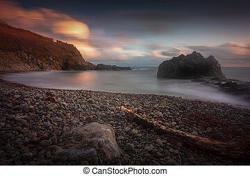 Rotherslade Bay on the Gower peninsula