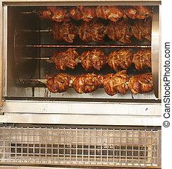 rotisserie, polli