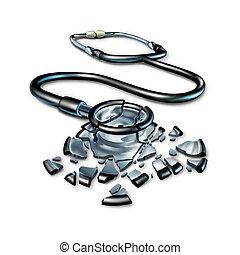 roto, asistencia médica