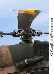 Rotor Blade - Close up of a rotor blade mechanism of a...