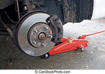 rotor, frein