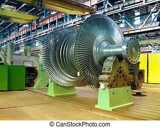 rotor, turbine