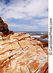 rotsen, aanzicht