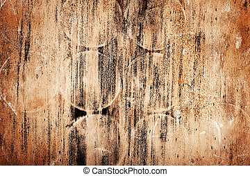Abstract designed rotten wood texture background