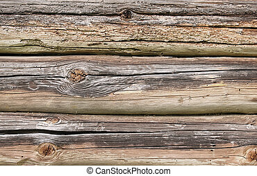 Rotten wood background - Old natural rotten wood, perfect...