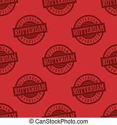 Rotterdam seamless pattern