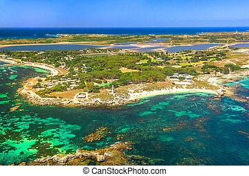 Rottnest Island aerial