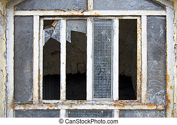 rotto, finestra