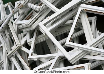 rotto, struttura finestra