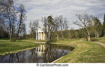 Rotunda in the park