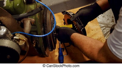 roue, 4k, mécanicien garage, entretenir, mac