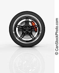 roue, courses