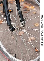 roue, de, vélo