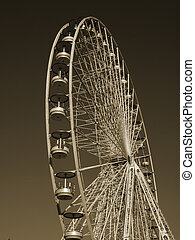 roue gigantesque