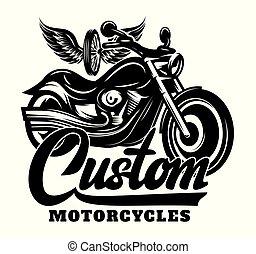 roue, lettrage, inscription, motocyclette, calligraphie, ailes