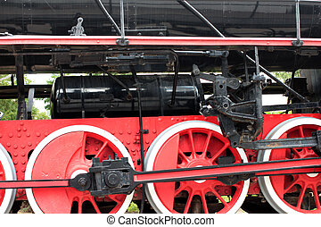 roue, locomotive