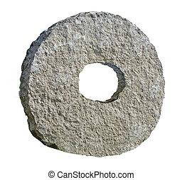 roue, pierre, premier
