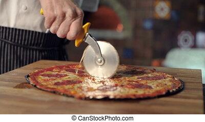 roue, pizza