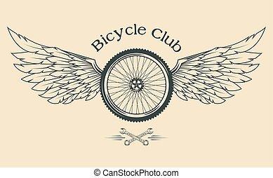 roue ailes pneu roue tatouage conception pneu