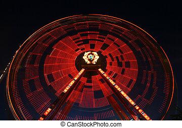 roue, rotation