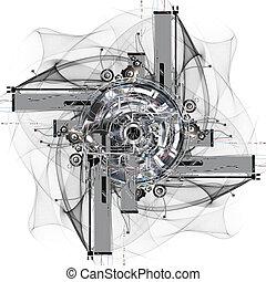 roue, temps