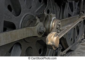 roue, train, ingénieur