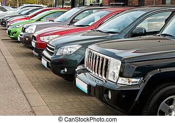 roue, véhicules, conduire, vente, quatre, utilité