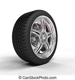 roue, voiture