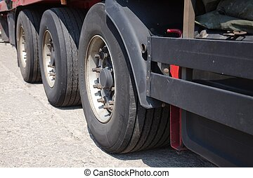 roues, camion
