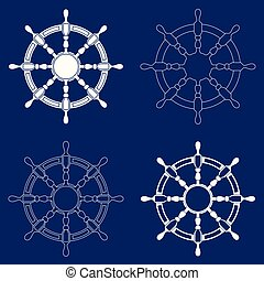 roues, ensemble, 4, direction