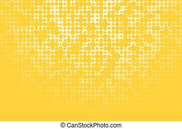 roues, fond jaune