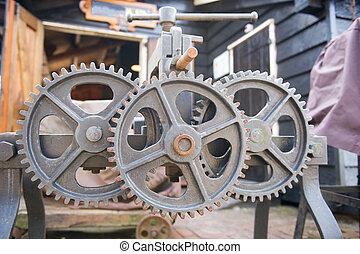 roues, industriel
