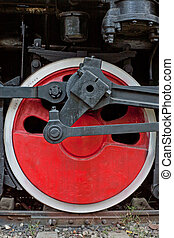 roues, porcelaine, train vapeur