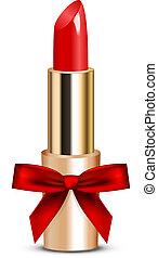 rouge lèvres, arc