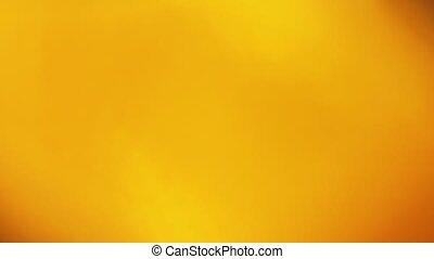 rouge-orange, pulsates, lumière, contre, sombre, arrière-plan., clair, scintillements