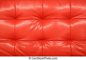 rouges, cuir, fond